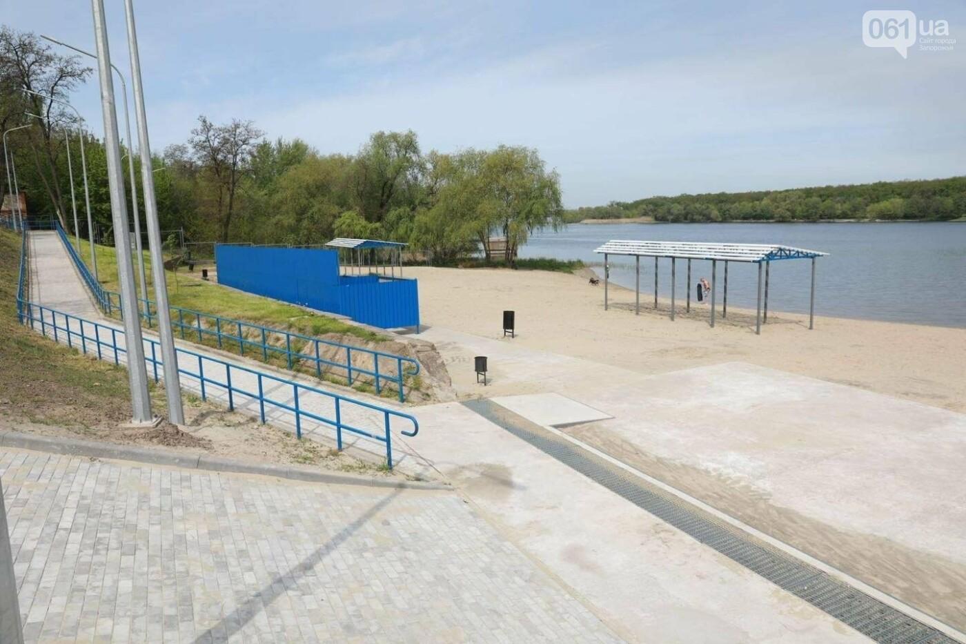 4 года и 25 миллионов гривен: в Запорожье завершается многострадальная реконструкция пляжа на Кичкасе, фото-1
