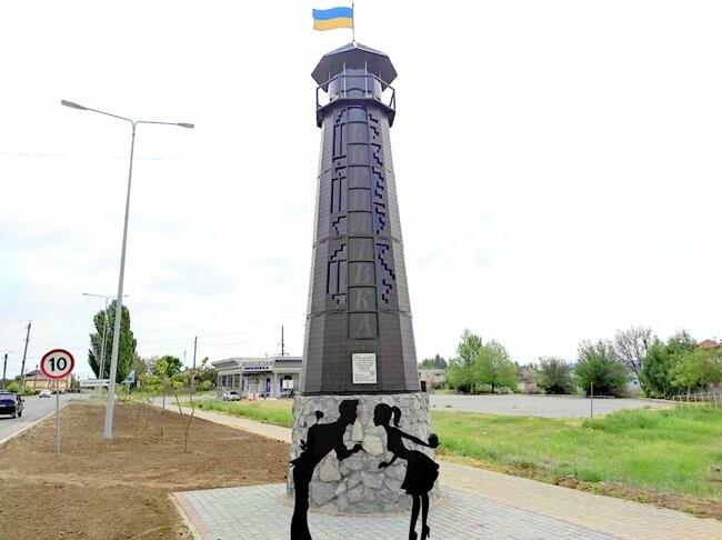 mayak 3 60a7a777839c2 - В Кирилловке установили маяк, - ФОТО
