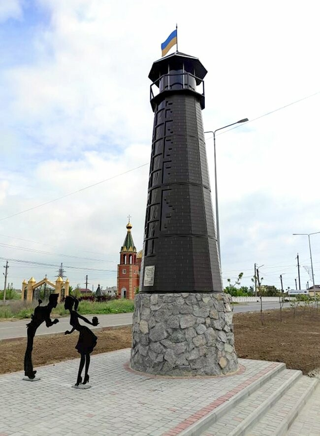 mayak 4 60a7a7759ac8b - В Кирилловке установили маяк, - ФОТО