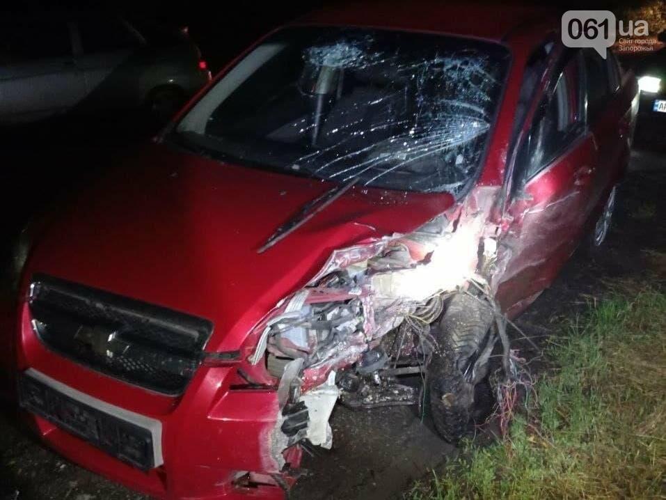 photo2021 06 0208 36 24 60b736e53ae6a - В Запорожской области в лобовом ДТП пострадали четыре человека - одного из водителей доставали спасатели