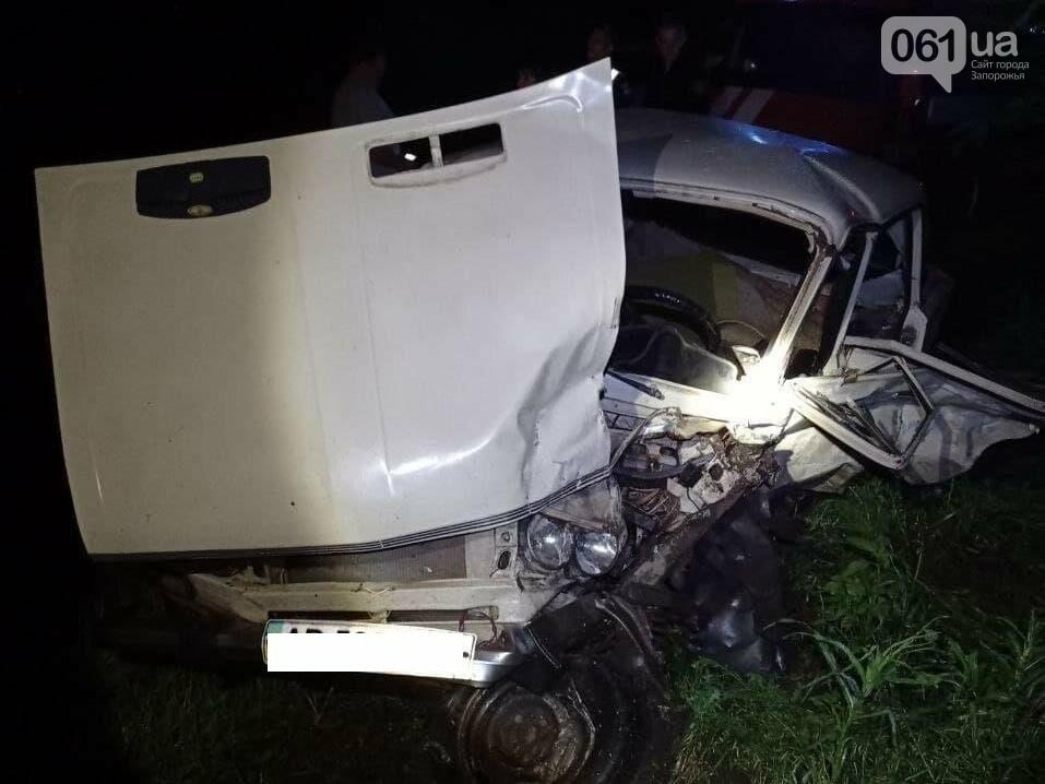 photo2021 06 0208 37 40 60b736e48f163 - В Запорожской области в лобовом ДТП пострадали четыре человека - одного из водителей доставали спасатели