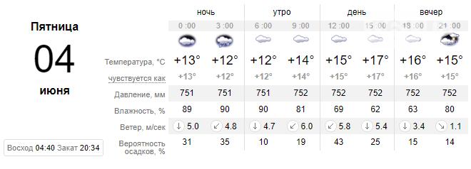 screenshot164 60b8eba05ccbd - Облачно и дождливо, но с небольшим потеплением, - погода в Запорожье на 4 июня