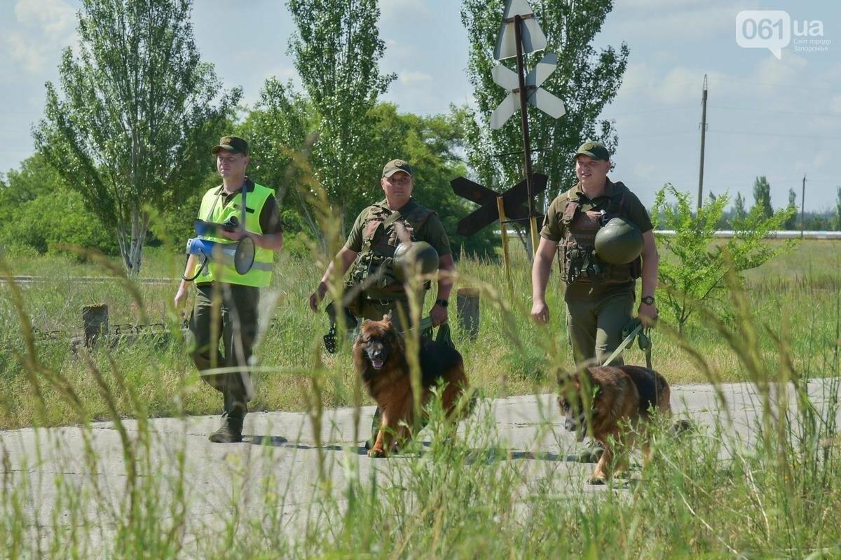 taktiko specucenia 3jpg 60c30382cd780 - Охрана Запорожской АЭС провела учения по противодействию массовым беспорядкам у атомной станции, - ФОТО