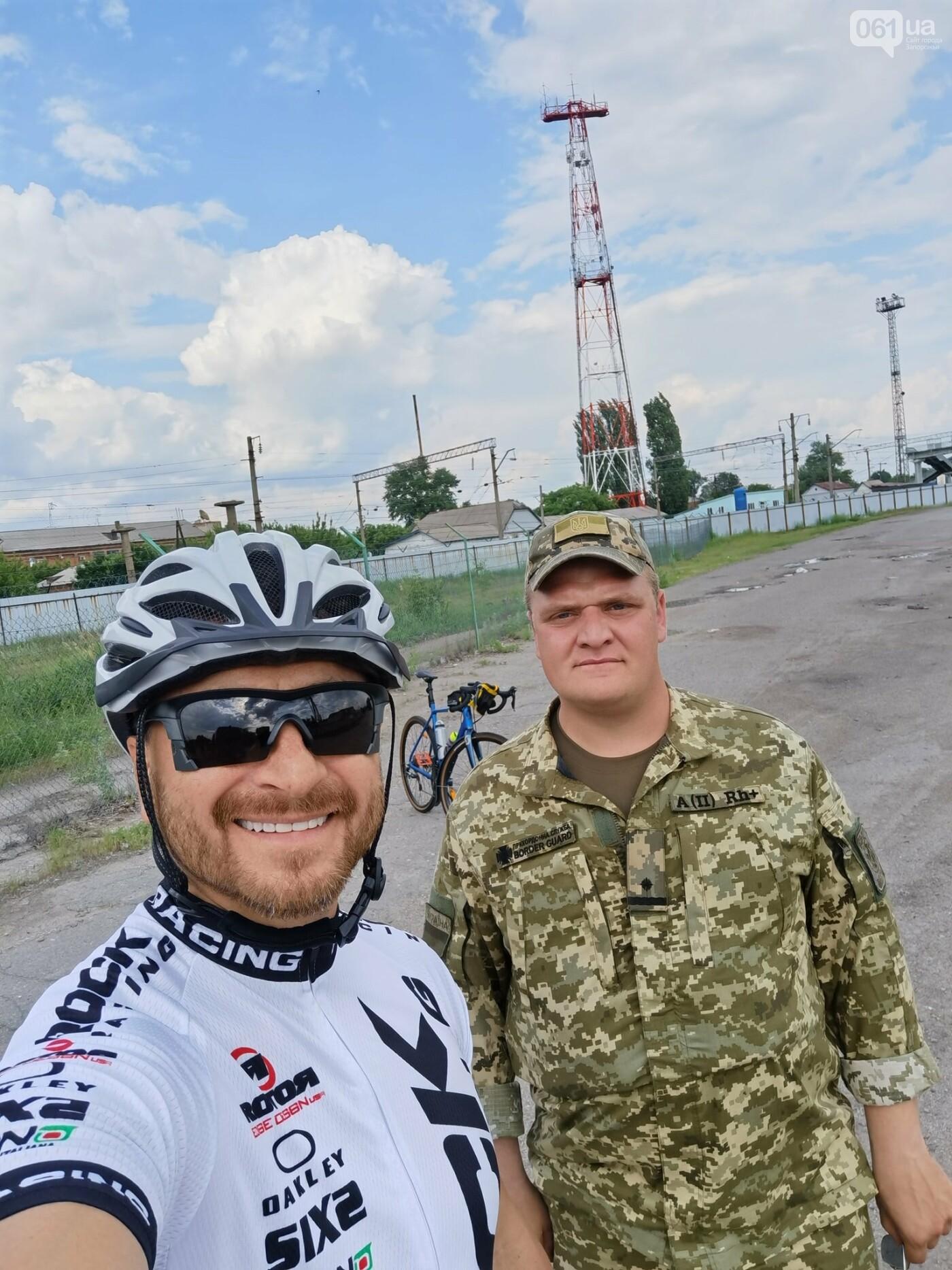 Фронтмен группы СКАЙ проедет на велосипеде через всю Украину - когда он будет в Запорожье , фото-2