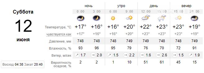 screenshot149 60c35ba565a72 - На выходных ожидается солнечная погода в Запорожье, обещают потепление