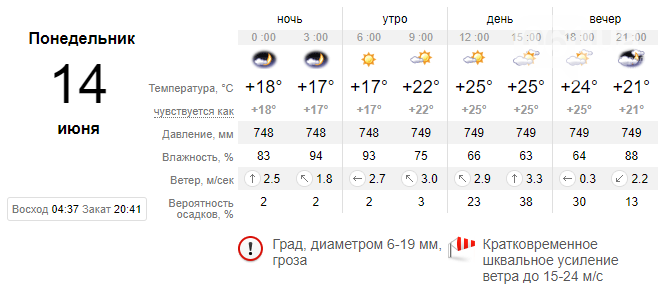 screenshot29 60c668151e1ee - Запорожцев ожидает еще одна дождливая неделя, - погода в Запорожье с 14 по 18 июня