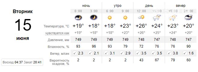screenshot30 60c668160a3c6 - Запорожцев ожидает еще одна дождливая неделя, - погода в Запорожье с 14 по 18 июня