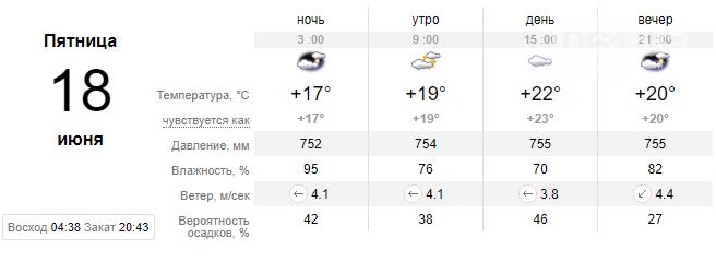 screenshot33 60c66817ad20b - Запорожцев ожидает еще одна дождливая неделя, - погода в Запорожье с 14 по 18 июня