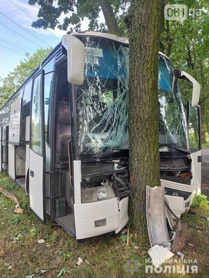 6 60d9a5cac1dcb - Автобус, следовавший из Польши в Запорожье, попал в ДТП в Умани, - ФОТО
