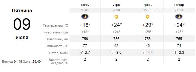 screenshot32 60e1eea17809b - Погода в Запорожье не спешит радовать жителей: на неделе вновь обещают дожди