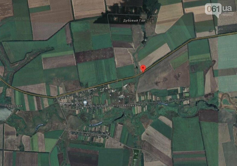 screenshot242 60e2da28ec30f - На дороге Запорожье-Донецк из-за ремонта моста автотранспорт пустят в объезд