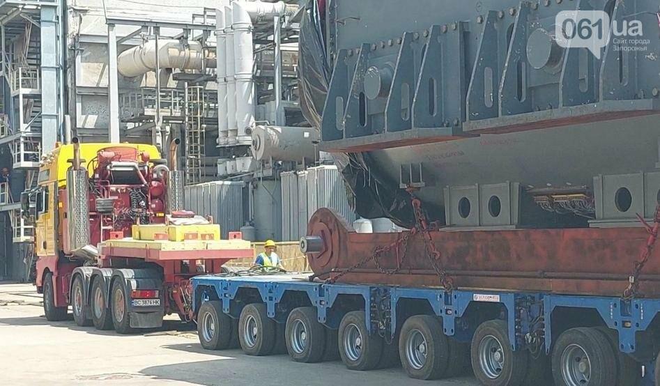 zamena statora zaes2 60ec2e166cb76 - На Запорожской АЭС меняют статор генератора на энергоблоке весом 335 тонн, - ФОТО