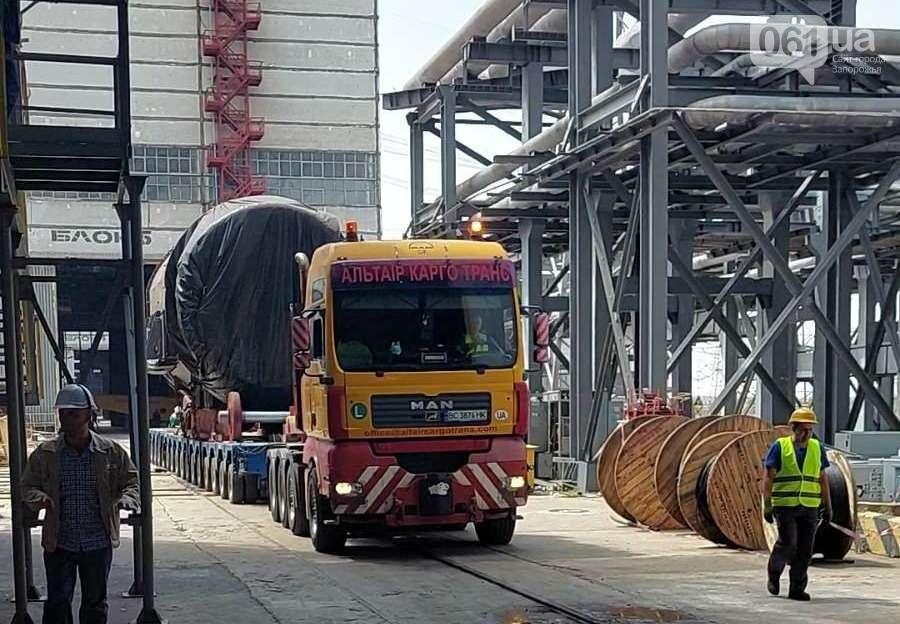 zamena statora zaes 60ec2e17125cc - На Запорожской АЭС меняют статор генератора на энергоблоке весом 335 тонн, - ФОТО