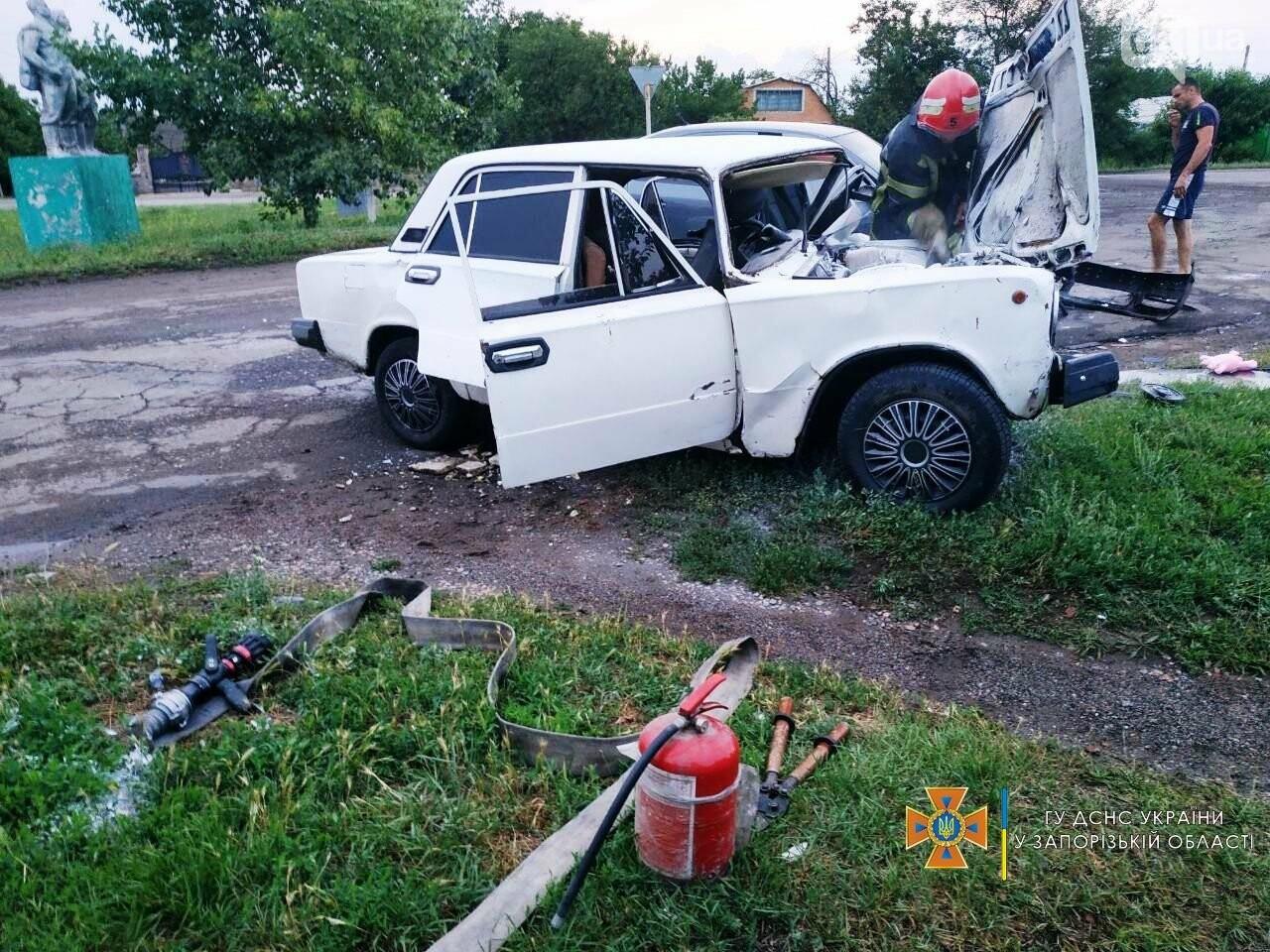 photo2021 07 1308 30 09result 60ed3dab2f21d - В Бердянском районе не поделили дорогу два легковых авто: в ДТП пострадали 5 человек, - ФОТО