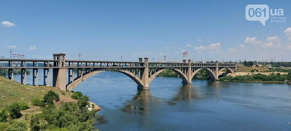 Строительство вантового моста в Запорожье: плавкран установил четвертую секцию, - ФОТО, фото-9
