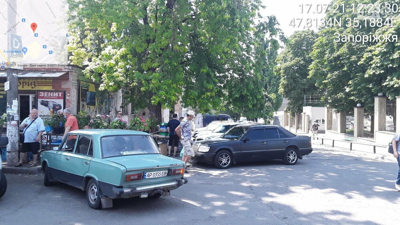 В Запорожье инспекторы по парковке на выходных вынесли 80 штрафов водителям , фото-4