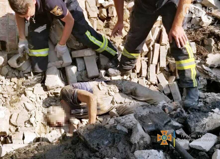 В Запорожье на мужчину рухнул кирпичный забор, - ФОТО, фото-2