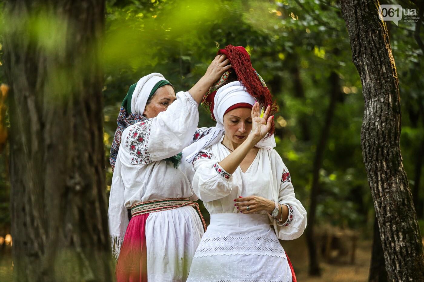Огонь и дубовые венки: как на Хортице отметили праздник Перуна, - ФОТОРЕПОРТАЖ, фото-2