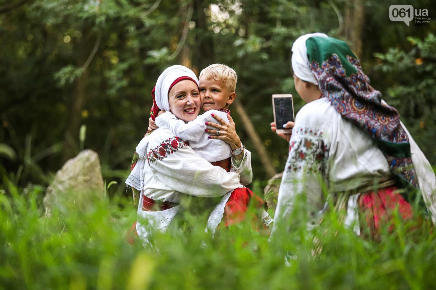 Огонь и дубовые венки: как на Хортице отметили праздник Перуна, - ФОТОРЕПОРТАЖ, фото-3