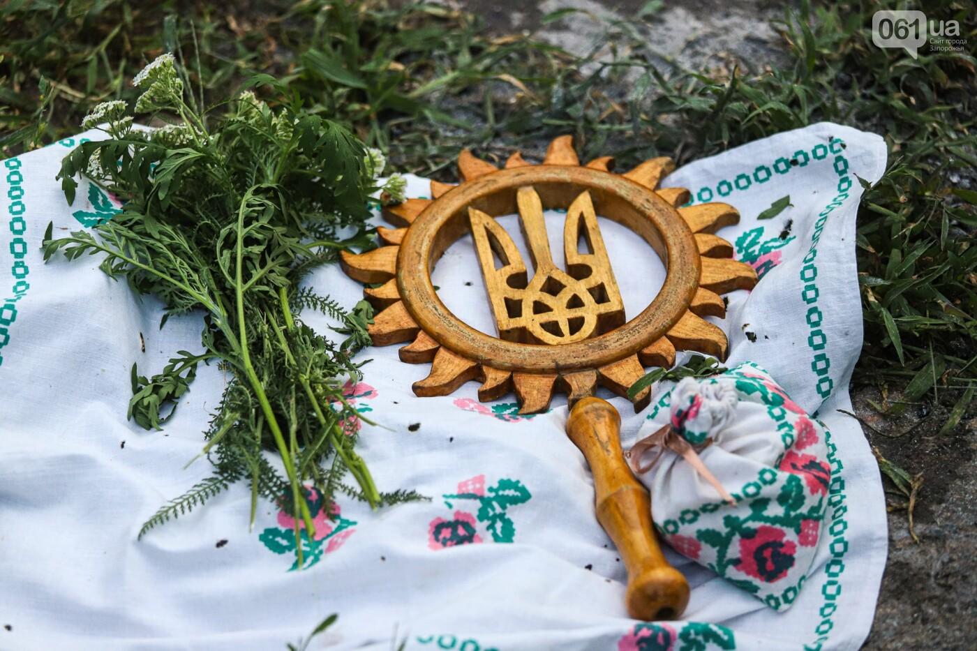 Огонь и дубовые венки: как на Хортице отметили праздник Перуна, - ФОТОРЕПОРТАЖ, фото-6
