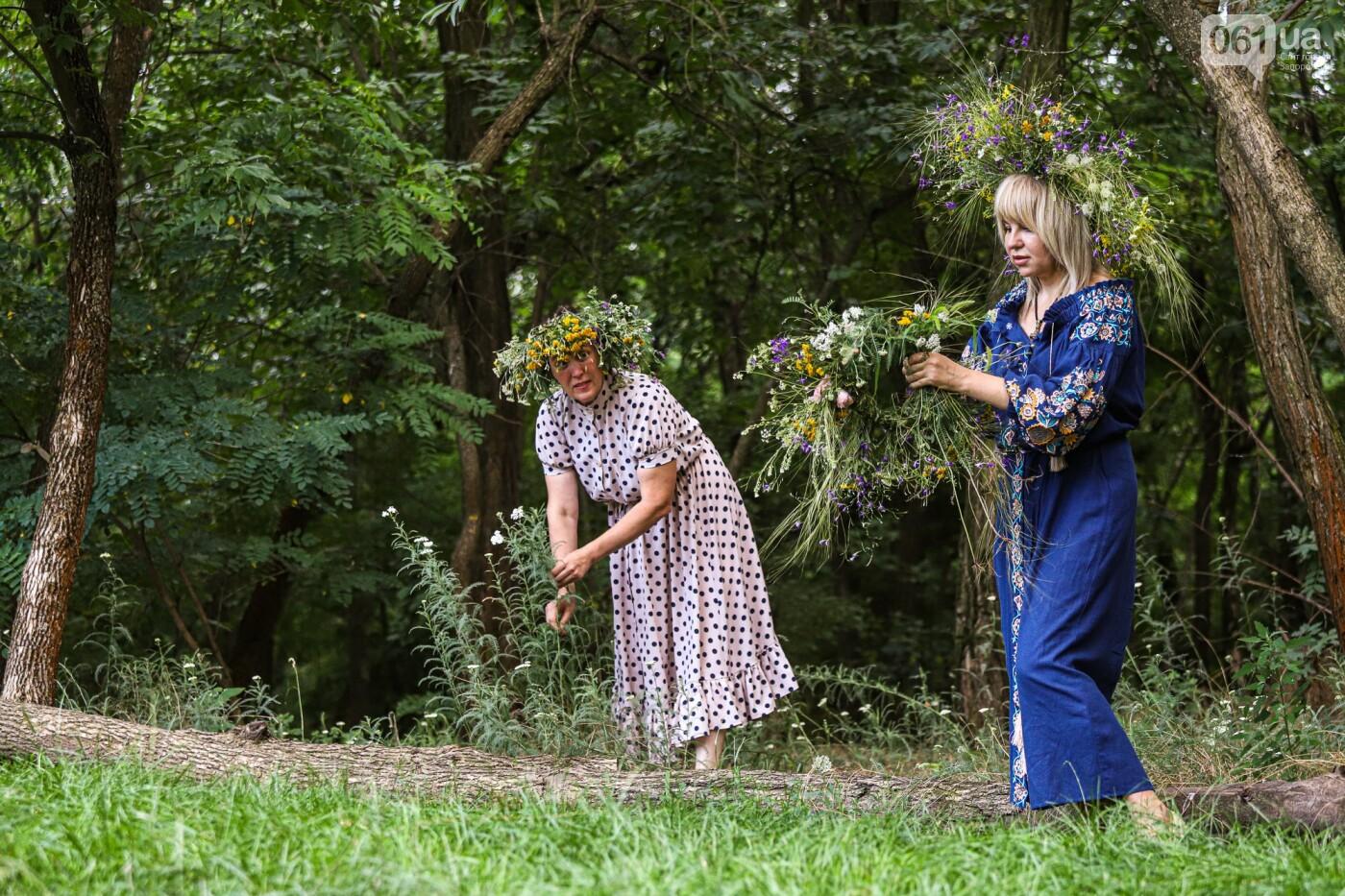 Огонь и дубовые венки: как на Хортице отметили праздник Перуна, - ФОТОРЕПОРТАЖ, фото-10