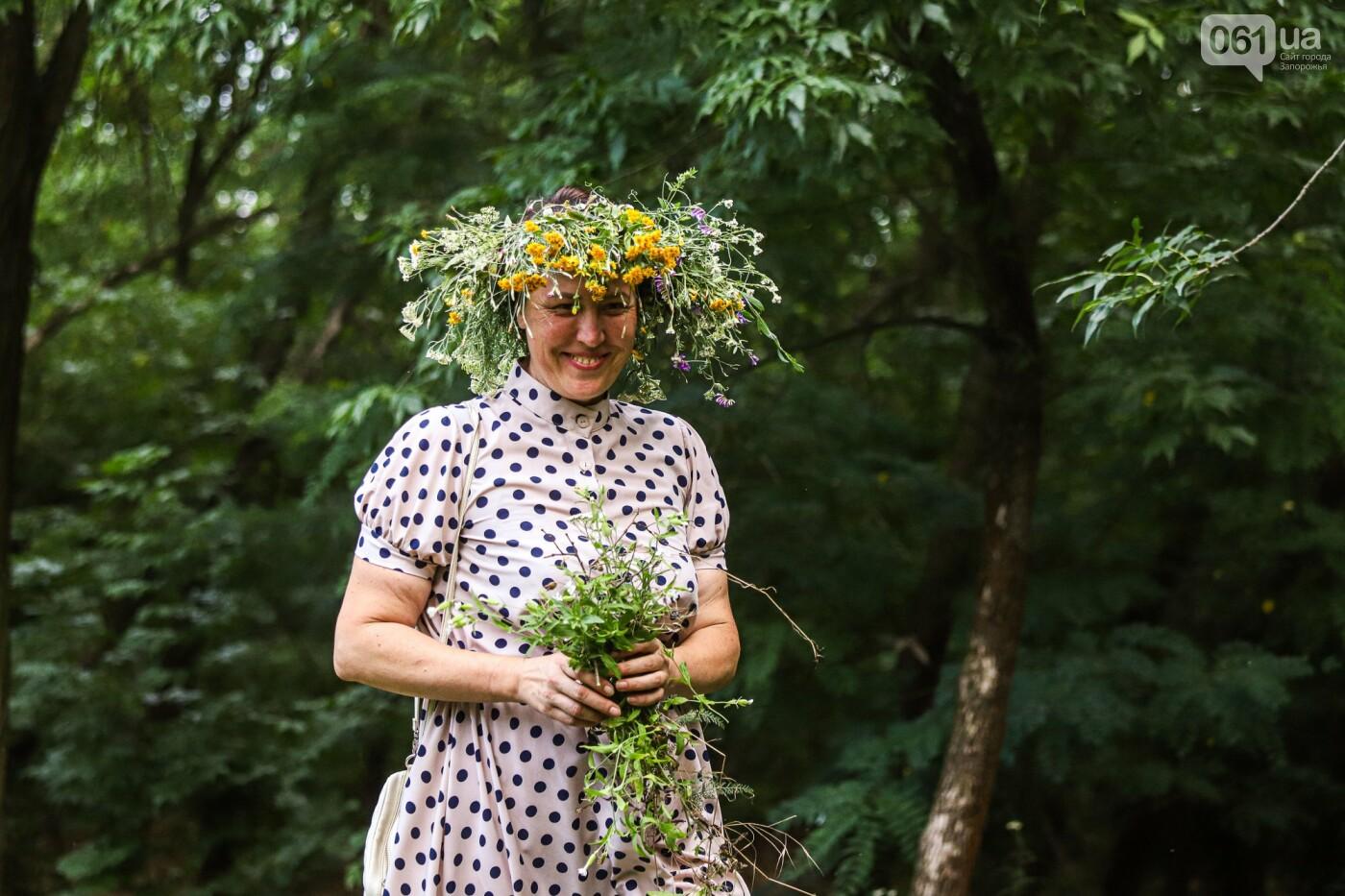 Огонь и дубовые венки: как на Хортице отметили праздник Перуна, - ФОТОРЕПОРТАЖ, фото-11