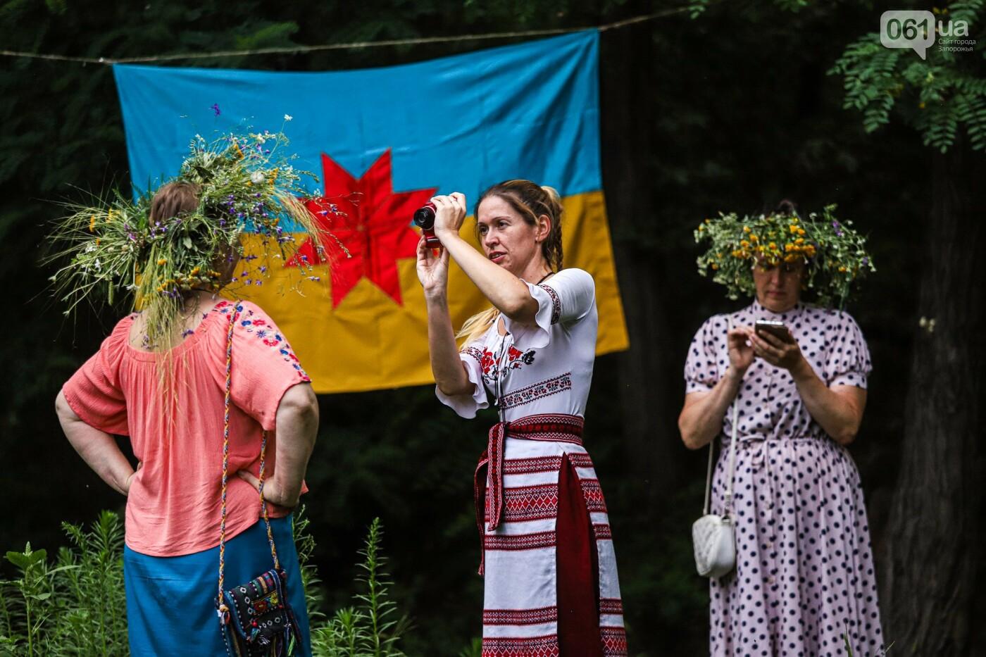 Огонь и дубовые венки: как на Хортице отметили праздник Перуна, - ФОТОРЕПОРТАЖ, фото-14