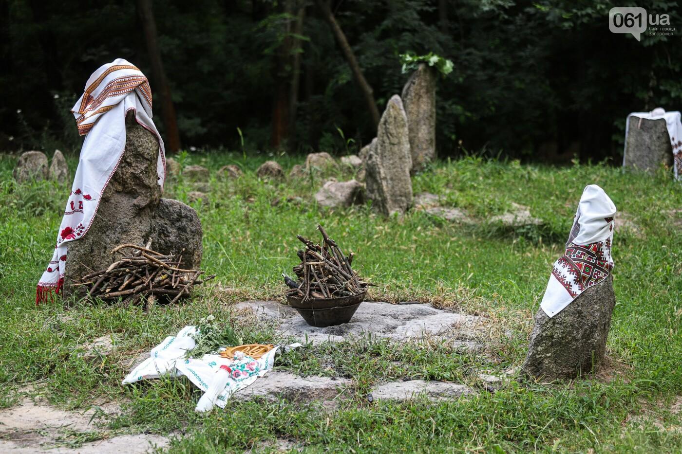 Огонь и дубовые венки: как на Хортице отметили праздник Перуна, - ФОТОРЕПОРТАЖ, фото-5