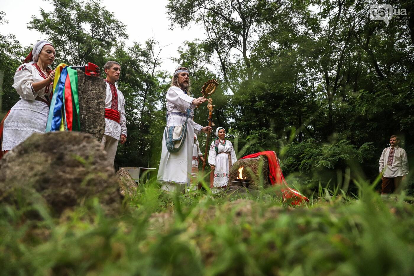Огонь и дубовые венки: как на Хортице отметили праздник Перуна, - ФОТОРЕПОРТАЖ, фото-16