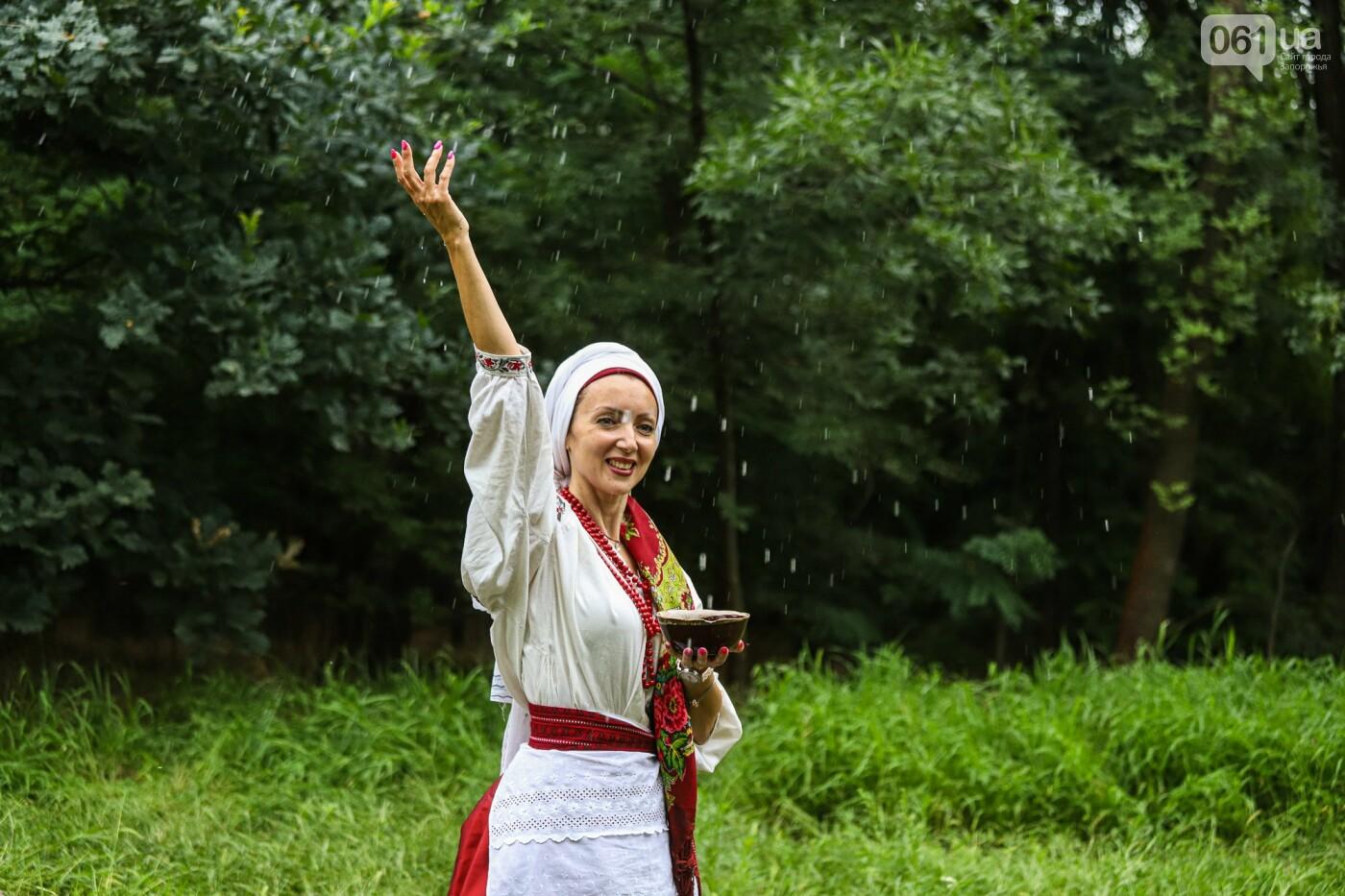 Огонь и дубовые венки: как на Хортице отметили праздник Перуна, - ФОТОРЕПОРТАЖ, фото-21