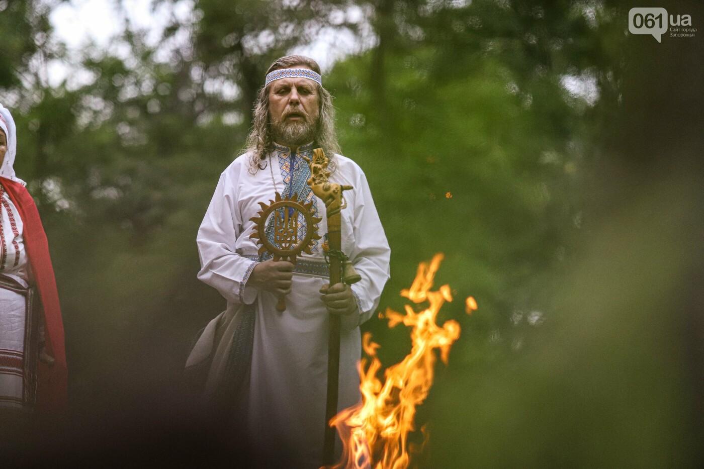Огонь и дубовые венки: как на Хортице отметили праздник Перуна, - ФОТОРЕПОРТАЖ, фото-28