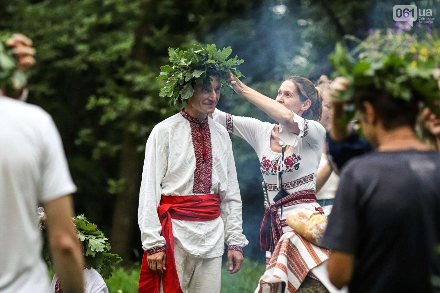 Огонь и дубовые венки: как на Хортице отметили праздник Перуна, - ФОТОРЕПОРТАЖ, фото-32