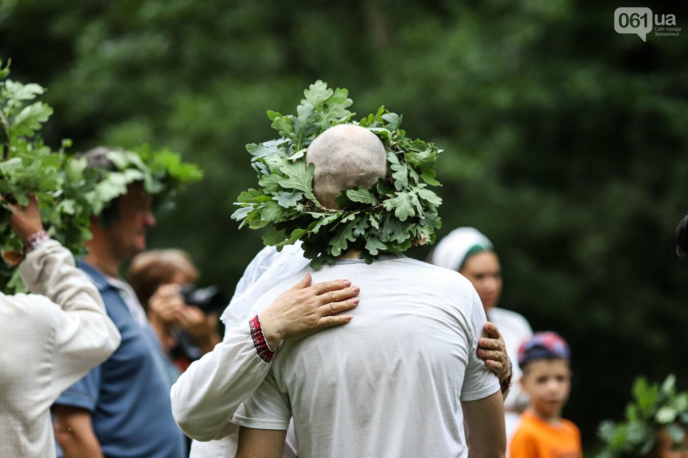 Огонь и дубовые венки: как на Хортице отметили праздник Перуна, - ФОТОРЕПОРТАЖ, фото-33