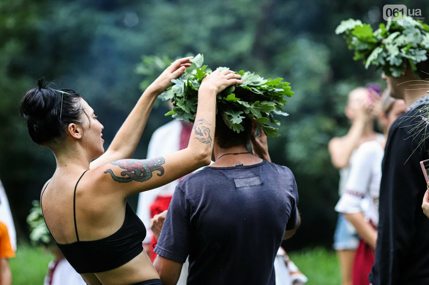 Огонь и дубовые венки: как на Хортице отметили праздник Перуна, - ФОТОРЕПОРТАЖ, фото-34