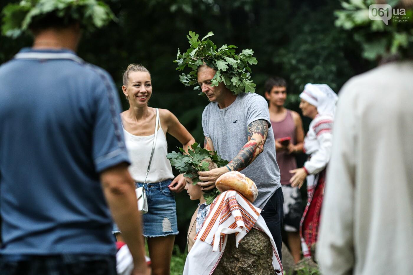 Огонь и дубовые венки: как на Хортице отметили праздник Перуна, - ФОТОРЕПОРТАЖ, фото-36