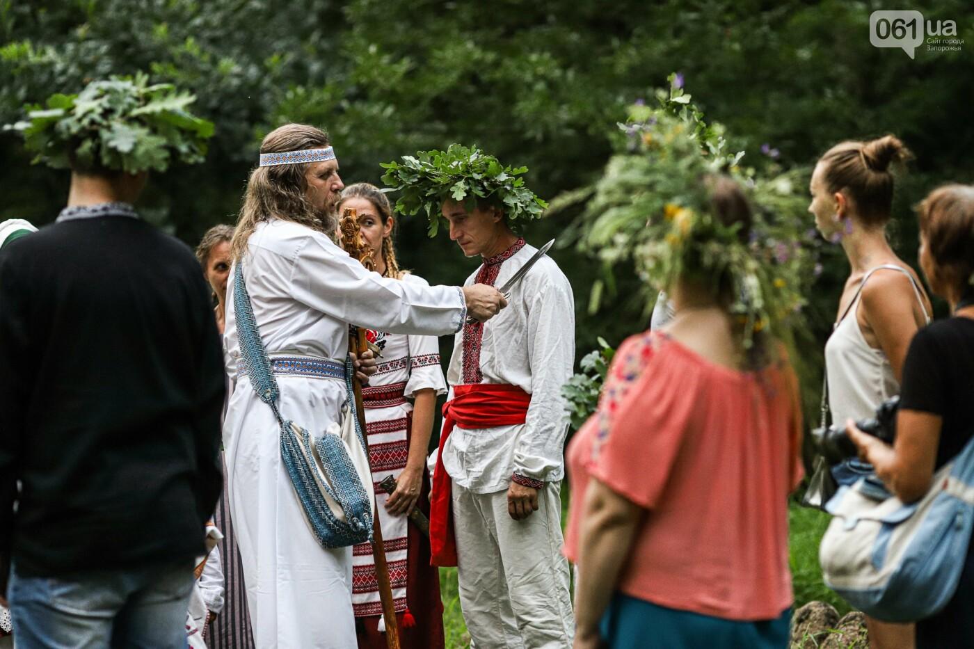 Огонь и дубовые венки: как на Хортице отметили праздник Перуна, - ФОТОРЕПОРТАЖ, фото-39