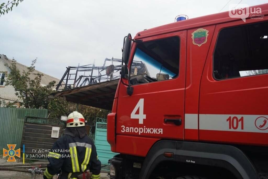 dsc07075result 611253b944b61 - В Шевченковском районе 18 спасателей тушили загоревшуюся крышу дома, - ФОТО