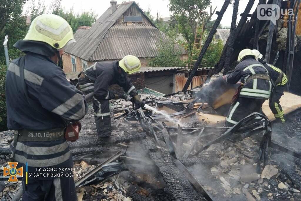 dsc07126result 611253bd5e218 - В Шевченковском районе 18 спасателей тушили загоревшуюся крышу дома, - ФОТО