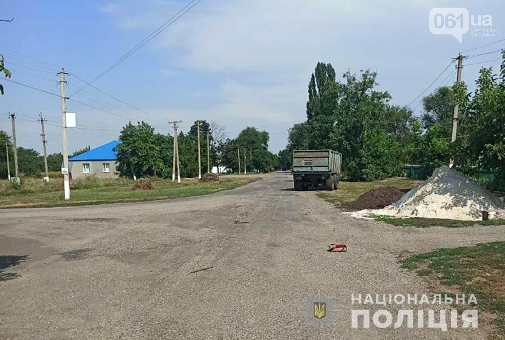 dtp 1 611500c9bb891 - В Запорожской области сильно пьяный водитель врезался в трактор - один человек погиб
