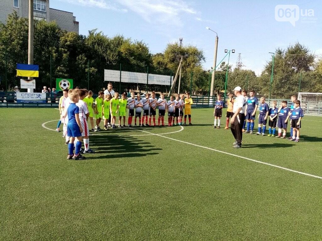 В Запорожской области стартовал региональный этап масштабного Всеукраинского турнира по футболу среди детей «Кубок единства-2021», фото-2