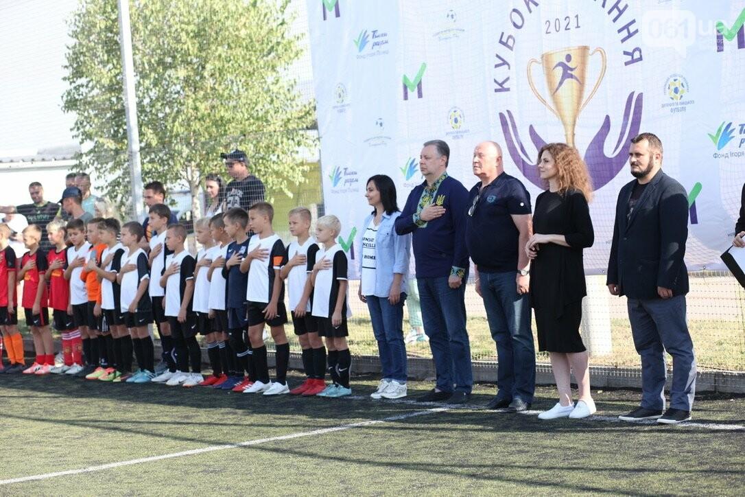 В Запорожской области стартовал региональный этап масштабного Всеукраинского турнира по футболу среди детей «Кубок единства-2021», фото-16