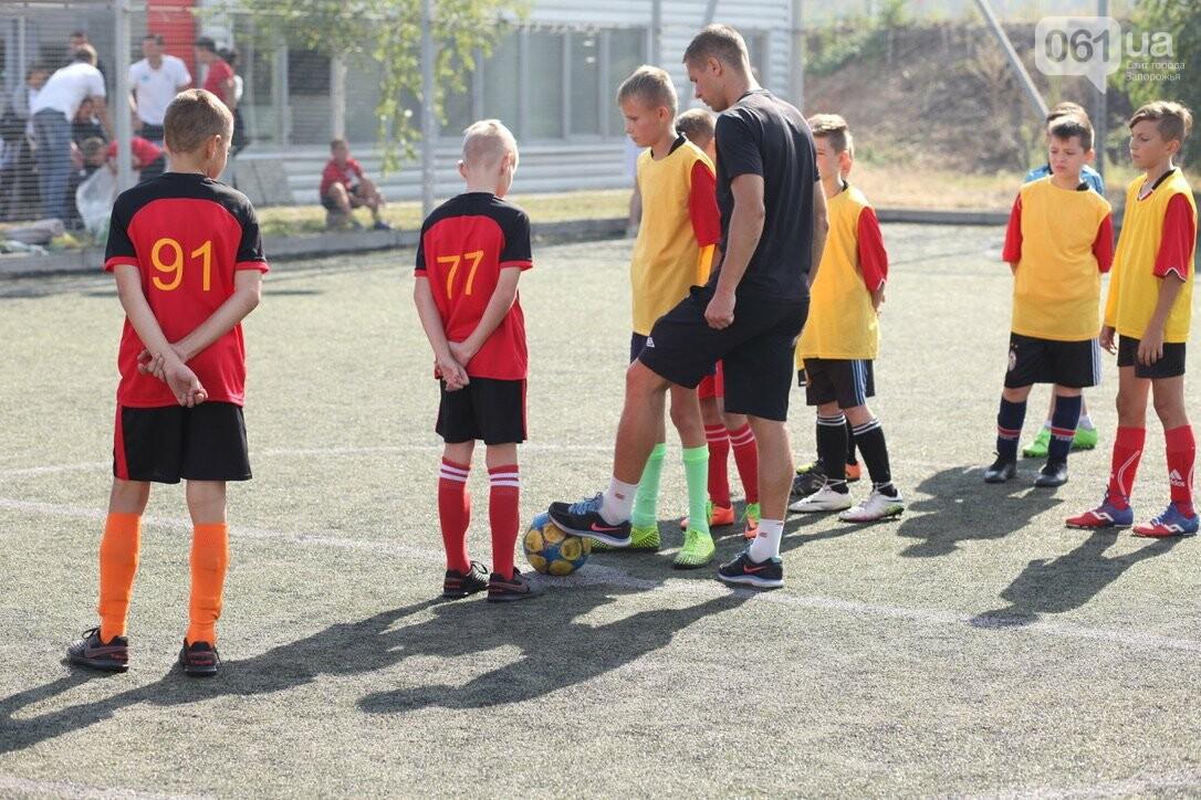 В Запорожской области стартовал региональный этап масштабного Всеукраинского турнира по футболу среди детей «Кубок единства-2021», фото-6