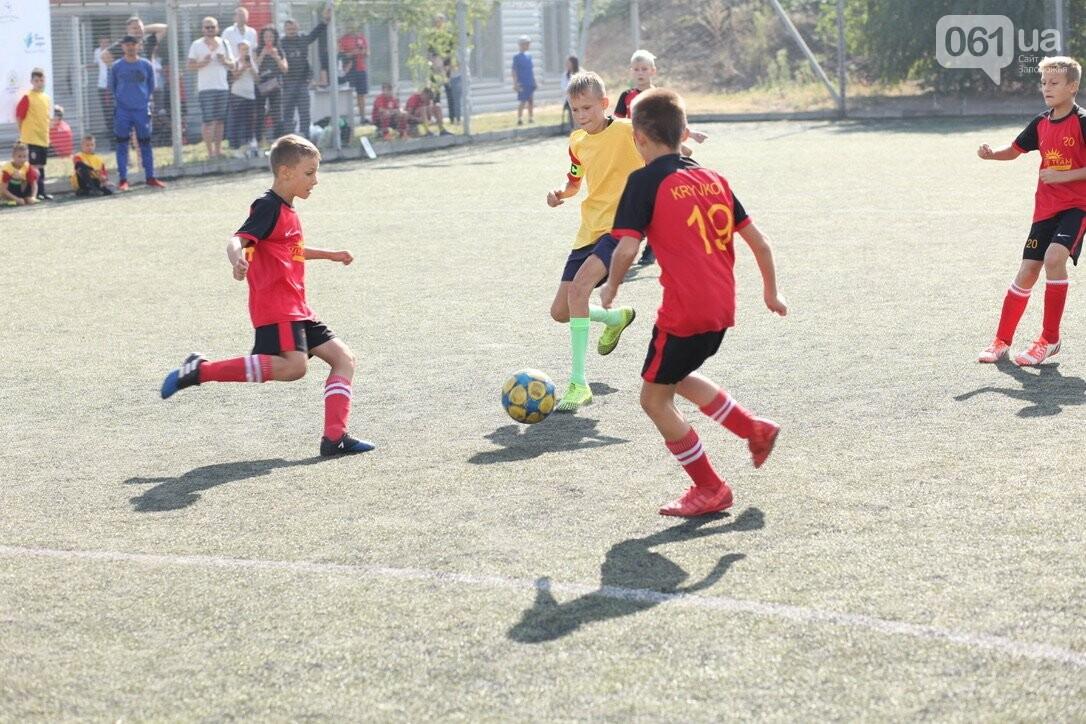 В Запорожской области стартовал региональный этап масштабного Всеукраинского турнира по футболу среди детей «Кубок единства-2021», фото-5