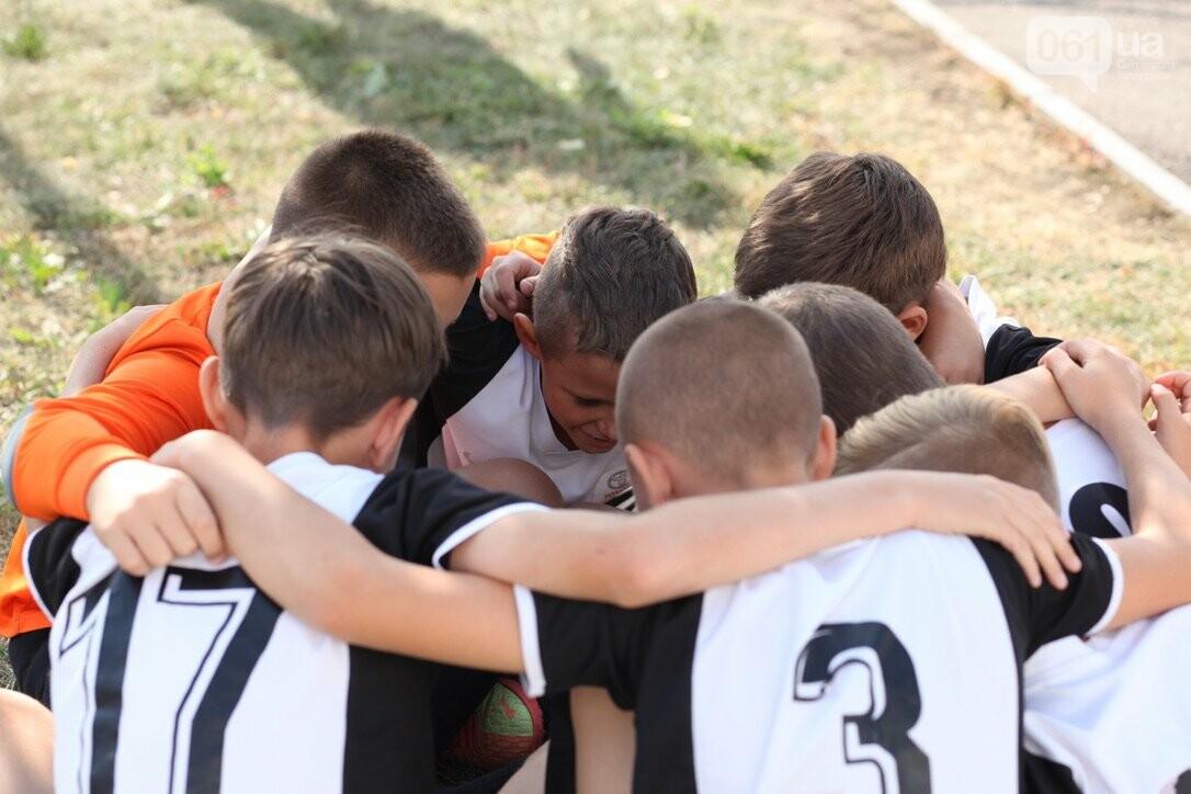 В Запорожской области стартовал региональный этап масштабного Всеукраинского турнира по футболу среди детей «Кубок единства-2021», фото-4
