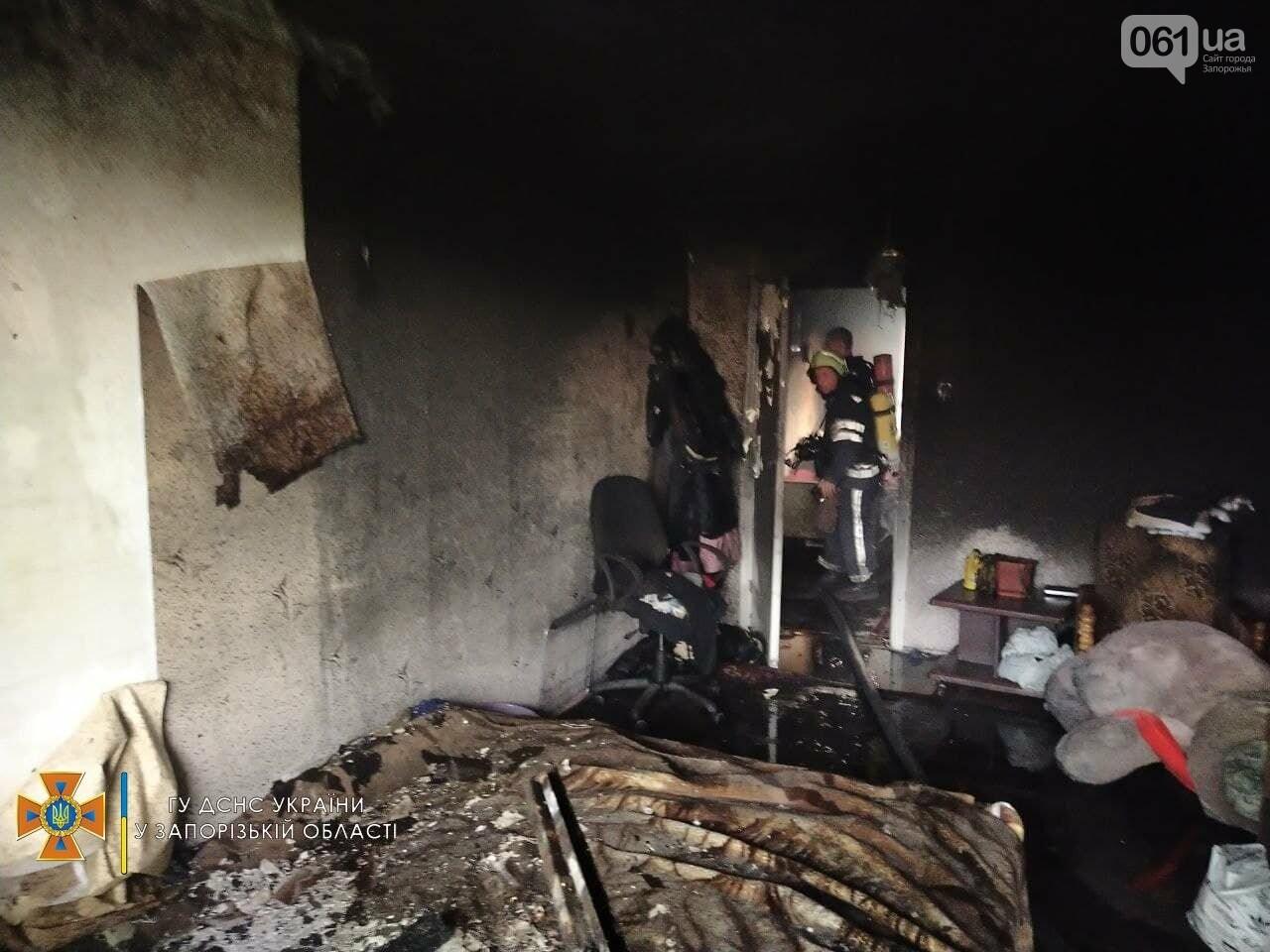 photo2021 09 1210 13 10result 613dd235815e9 - В Запорожье 18 спасателей тушили пожар в девятиэтажке, - ФОТО