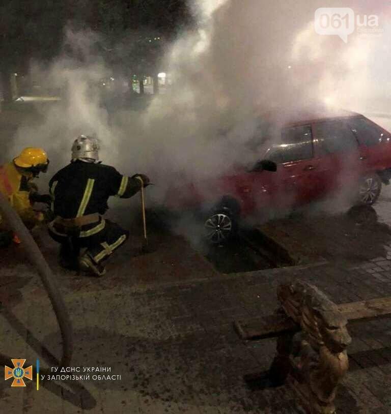 photo2021 09 1509 48 57result 61419f2ff2fbe - В Мелитополе загорелся легковой автомобиль, - ФОТО