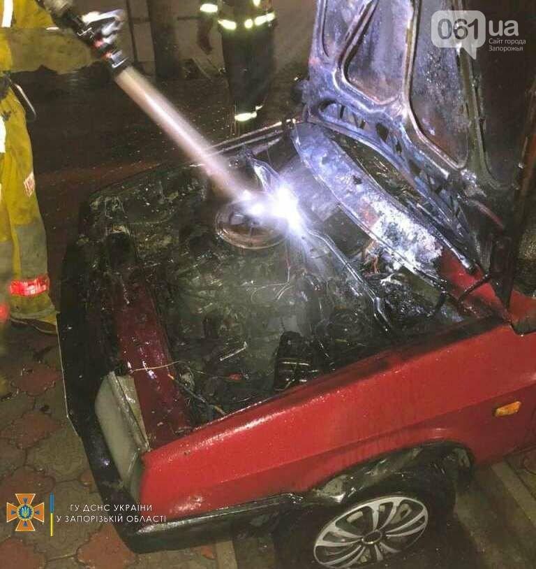 photo2021 09 1509 49 00result 61419f309f44a - В Мелитополе загорелся легковой автомобиль, - ФОТО