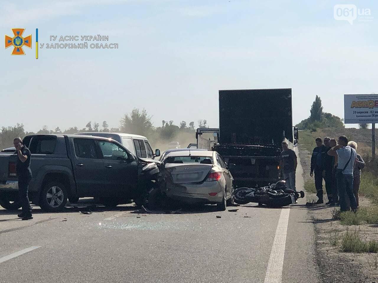 photo2021 09 1810 49 20result 61459dd84c9b7 - На запорожской трассе из-за дыма от пожара столкнулись пять автомобилей