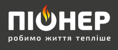 Логотип - Котлы твердотопливные пиролизного типа и пеллетные горелки факельного типа «Пионер»