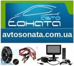 Логотип - АвтоСоната (Avtosonata), интернет-магазин аксессуаров и автозапчастей
